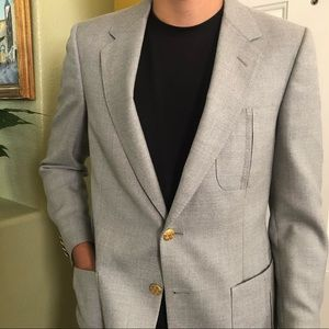 LANVIN Light Grey Men's Jacket